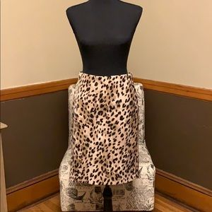 Philosophy Leopard skirt